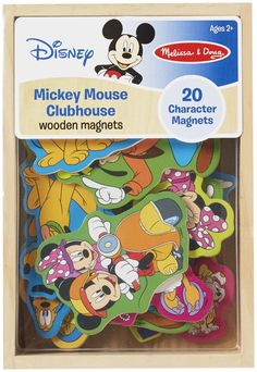 Melissa & Doug Mickey Mouse Clubhouse Wooden Magnets - Free Shipping