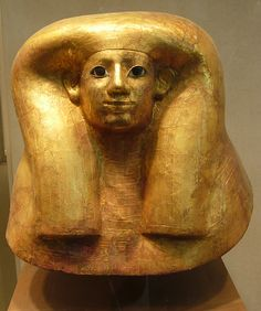 Funerary mask of Hatnefer. New Kingdom, early 18th Dynasty, reign of Thutmose II - early joint region, ca. 1492-1473 B.C.
