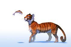 Tiger by Daesiy.deviantart.com on @deviantART