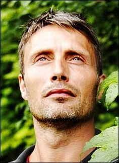 Danish actor Mads Mikkelsen (b. 1965) I just find something so interesting about his face.