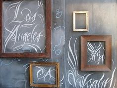 Chalk and frames