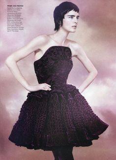 Stella Tennant Vogue US 2012
