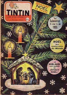 Journal de TINTIN édition Française N° 321 du 16 Décembre 1954 - Spécial Noël