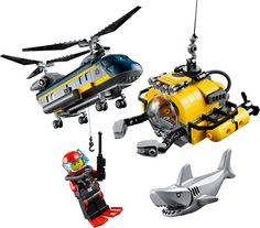 LEGO City - Deep Sea Helicopter by Lego Systems, Inc. - $49.95