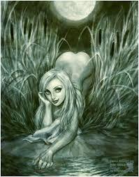 Pusalka é uma ninfa da água , [1] uma fêmea espírito na mitologia eslava . Ela é o equivalente a uma sereia . Ela tem nomes diferentes em várias culturas: Rusalka (em eslavos orientais culturas) vila (checo, eslovaco), Wila (Polish). De acordo com a maioria das tradições, rusalki eram peixes-mulheres, que viviam no fundo dos rios. No meio da noite, eles iriam sair para o banco e dança nos prados. Se eles viram homens bonitos, eles fasciná-los com canções e dança, hipnotizar-los