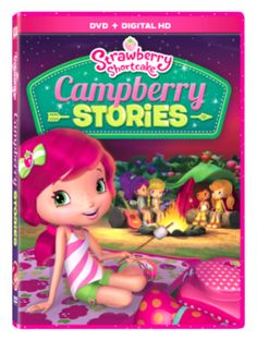 Strawberry Shortcake Campberry Stories DVD #sponsored review on Two Classy Chics blog