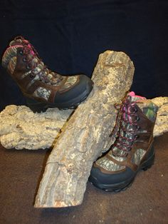 Wolverine Pink & Camo 30061 In Store & Online $121.99 hikin in the mountains, these would be great for it!!!
