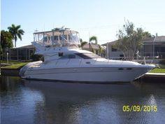 1998 Sea Ray 400 Sedan Bridge located in Florida for sale