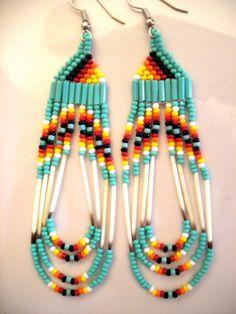 Unique Southwest/ Native American Beaded by Lamebeavertradingco, $19.00