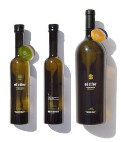 El Rifer Olive Oil - Marçal Prats  Simple but I like it IMPDO.