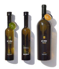 El rifer #oil #packaging by Marçal Prats, Spain #spanishdesign