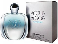 Armani Acqua di Gioia Essenza Armani Parfum, Giorgio Armani, 50th, Shampoo, Perfume Bottles, Beauty, Perfume Bottle, Beauty Illustration