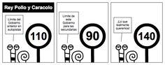 Límite - Otra vez quieren cambiar el límite de velocidad, pero esta vez en las secundarias. En este País todo por recaudar más, y nada por tener carreteras mejores y más seguras