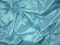 oasis | Silk Baron light blue silk dupioni