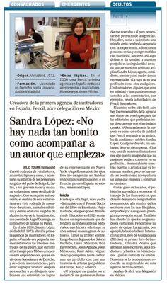 Sandra López, perfil en El Mundo de Castilla y León