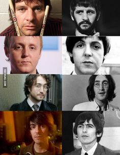The Beatles, and their sons.