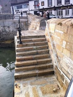 Plymouth Steps - Plymouth England - Chased by a wild swan near here which wanted more bread...:-)