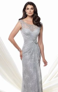 Lace Tulle Gown by Mon Cheri Montage 115977