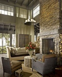 Home On Pinterest Country Living Rooms Lots Of Windows And Compact