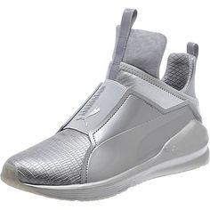 2ca4af88de4 PUMA FIERCE METALLIC WOMENS SNEAKERS Metallic Shoes