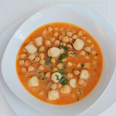 Chickpeas with scallops – Mi Diario de Cocina Cooking For One, Cooking Time, Dole Pineapple Juice, Coconut Flan, Brunch, Chickpea Stew, Detox Salad, Banana Bread Recipes, Scallops