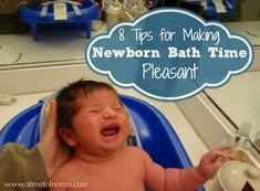 8 Tips for Making Newborn Bath Time Pleasant