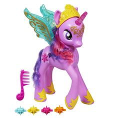 My Little Pony Feature Princess Twilight Sparkle Touch her wings and they'll light up and make magical sounds