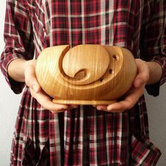 Your place to buy and sell all things handmade Wooden Yarn Bowl, Wood Bowls, Wood Turning Projects, Easy Projects, Knitting Storage, Crochet Bowl, Wood Lathe, My Etsy Shop, Carving