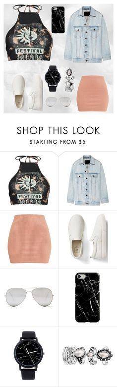 """ummm ya"" by lilmainella on Polyvore featuring Boohoo, Alexander Wang, Gap, Sunny Rebel and Recover"