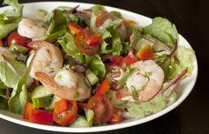 30-Minute Meals: Gazpacho Shrimp Salad