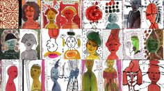 ♥ Orly Avineri's face book pages #mixedmedia