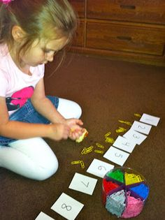 Everyday Math Games (Number Correspondence, Number-Object Relationships, Color Patterning, Spatial & Logical Thinking)