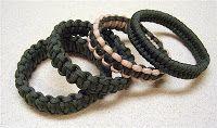 Stormdrane's Blog: Slip-on Paracord Bracelet