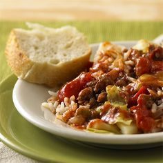 I made this Unstuffed Cabbage from ReadySetEat. Try the recipe at  http://www.readyseteat.com/recipes-Unstuffed-Cabbage-2220.html