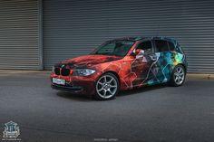 BMW 1 — Cosmo-camo Megane Rs, Bmw 1 Series, Street Racing, Sweet Cars, Ride Or Die, Car Wrap, Bmw Cars, Branding, Car Decals