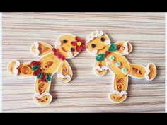 DIY Paper Quillings -Christmas Decoration - Easy & Simple Christmas design 32 - YouTube