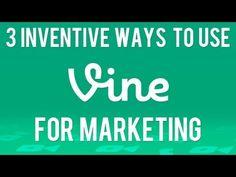 3 Inventive Ways to Use Vine App Marketing to Promote Your Business #socialmedia #vine