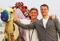 "The Camel Memoir: ""Football God Bastian Schweinsteiger, Legendary Sweeper Keeper Manuel Neuer, and Adorable Me"""