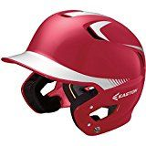 Easton Senior Z5 2Tone Batters Helmet   Durable batting helmet Easton product Great for players of all caliber Some helmets have logo stickered in the front it can removed easily if not needed ABS plastic provides an excellent protective shell against high impacts Dual Density Foam absorbs sweat...