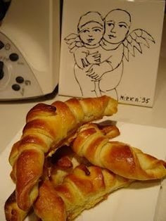 Croissants made in thermomix