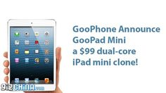 Empresa chinesa lança clone do iPad mini por US$ 99