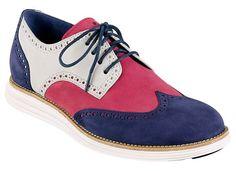 Cole Haan LUNARGRAND WINGTIP [RED/WHITE/BLUE] C11210 http://findanswerhere.com/mensshoes