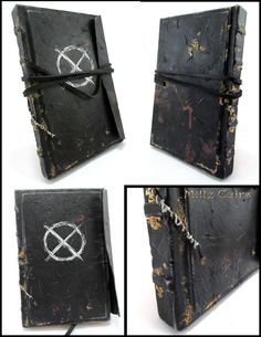 Slenderman - Operator's journal by MilleCuirs on DeviantArt Diy Halloween Books, Men's Journal, Slender Man, Handmade Journals, Deviantart, Creepypasta, Notebooks, Inspiration, Mythology