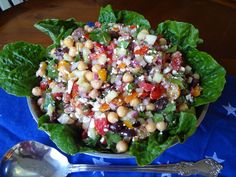 Chick Pea and Feta Salad! www.cateringbydebbicovington.com