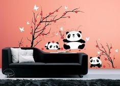 Panda decal - Etsy - $88.00