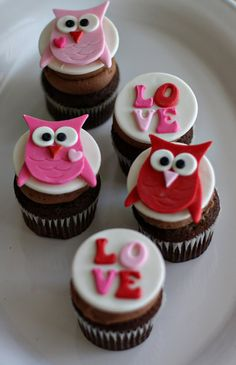 Cupcakes de Buhos