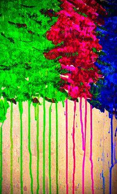 Drip Drip Drop by Roberta Byram; an acrylic painting. Available bertsworks.com