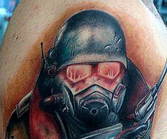 The Best Fallout Tattoos Tattoo Time, Tattoo Art, Fallout Tattoo, Fallout Game, Sweet Tattoos, Body Mods, Don't Worry, Tatoos, Body Art