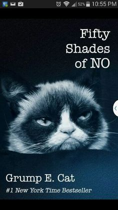 Fifty shades of... NO