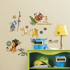Lion King wall stickers for kids
